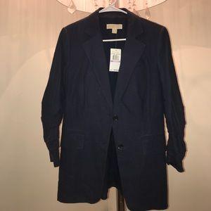 Michael Kors indigo blazer, brand new! Size 6